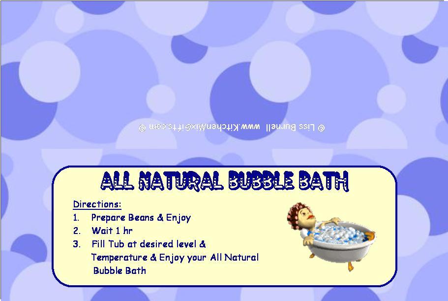 wallpaper creator: Bubble Bath.