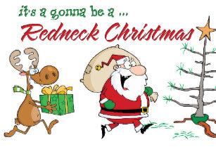 Redneck Christmas Cards.