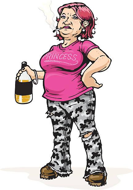 Best Redneck Woman Illustrations, Royalty.