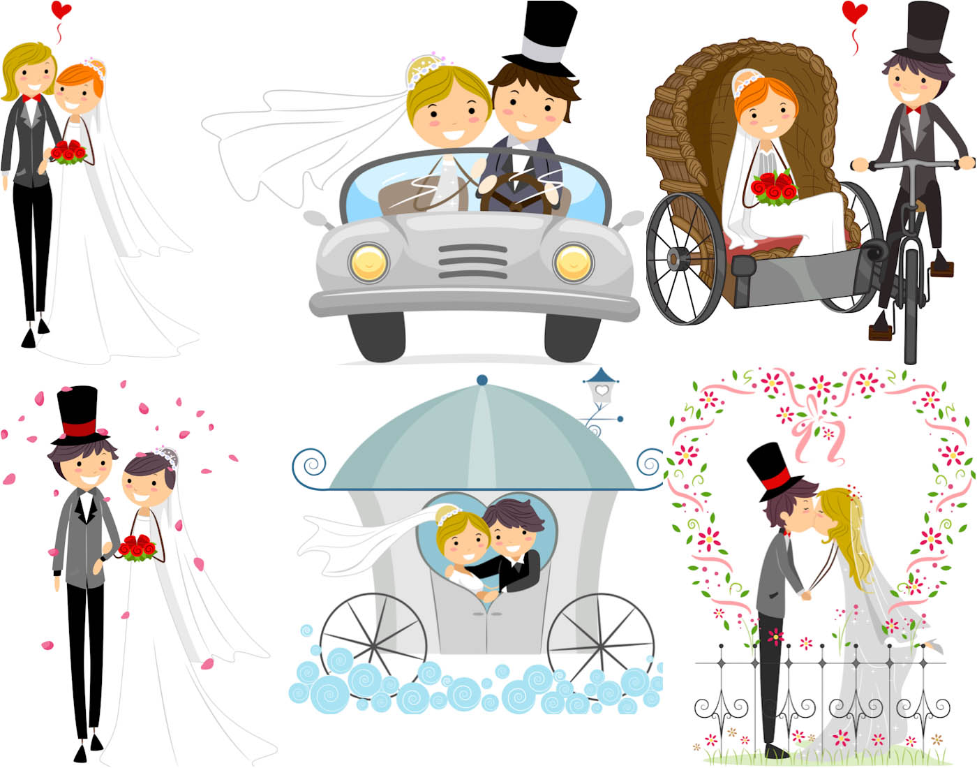 Free Happy Wedding Cliparts, Download Free Clip Art, Free.