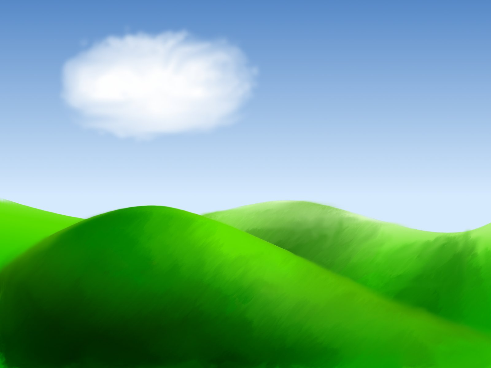 Rolling hills clipart free.