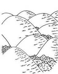 Similiar Black And White Clip Art Of Landforms Keywords.