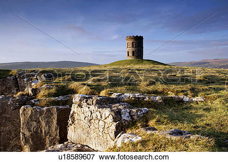 Picture of England, Derbyshire, Buxton. Solomon's Temple (also.