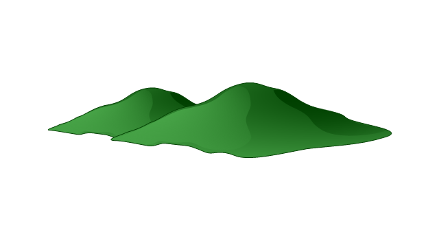 Hills clipart vector, Hills vector Transparent FREE for.
