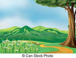 Hillside Illustrations and Clip Art. 1,980 Hillside royalty free.
