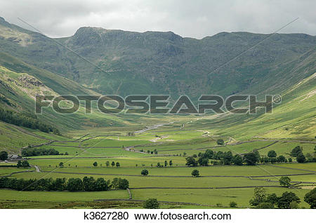Stock Photography of hillside view k3627280.