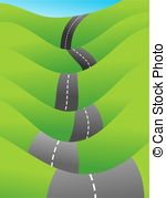 Winding road Clipart and Stock Illustrations. 3,480 Winding road.