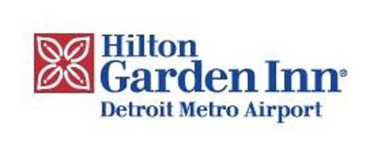Hilton Garden Inn Detroit Metro Airport Logo.
