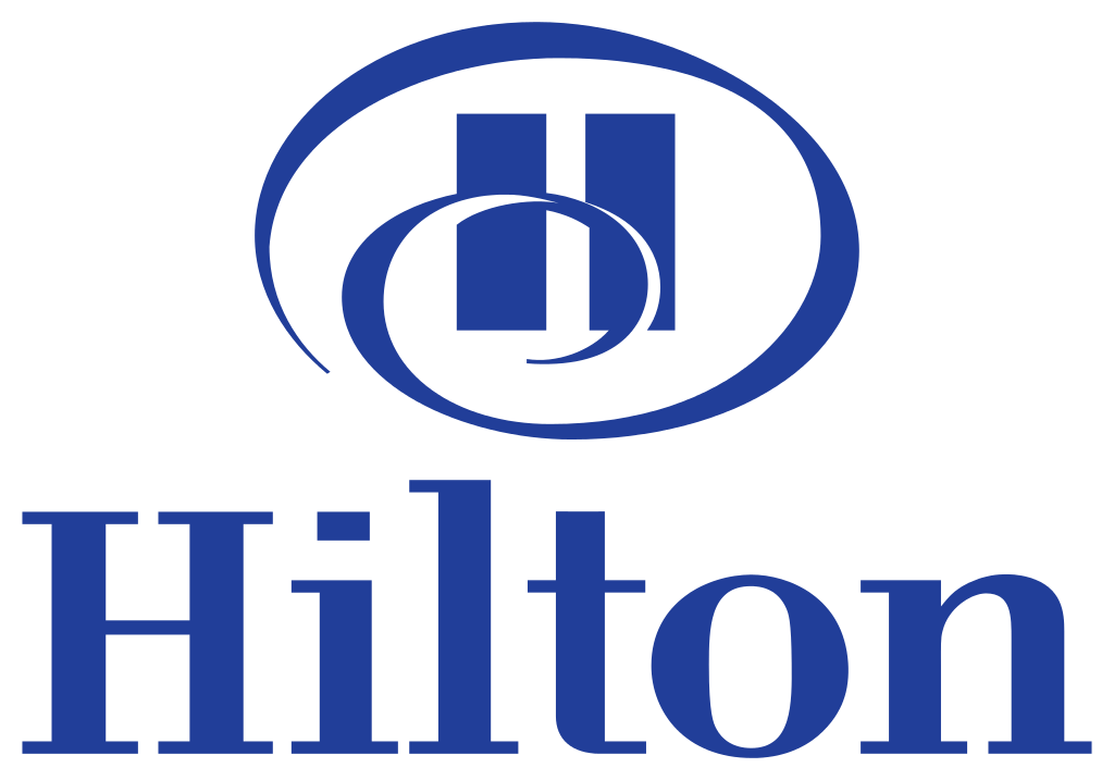 Hilton Logo transparent PNG.