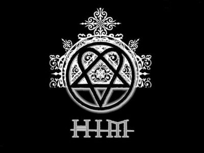 HIM band logo.