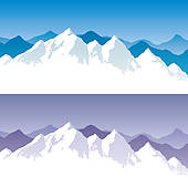 Himalayan mountain clipart.