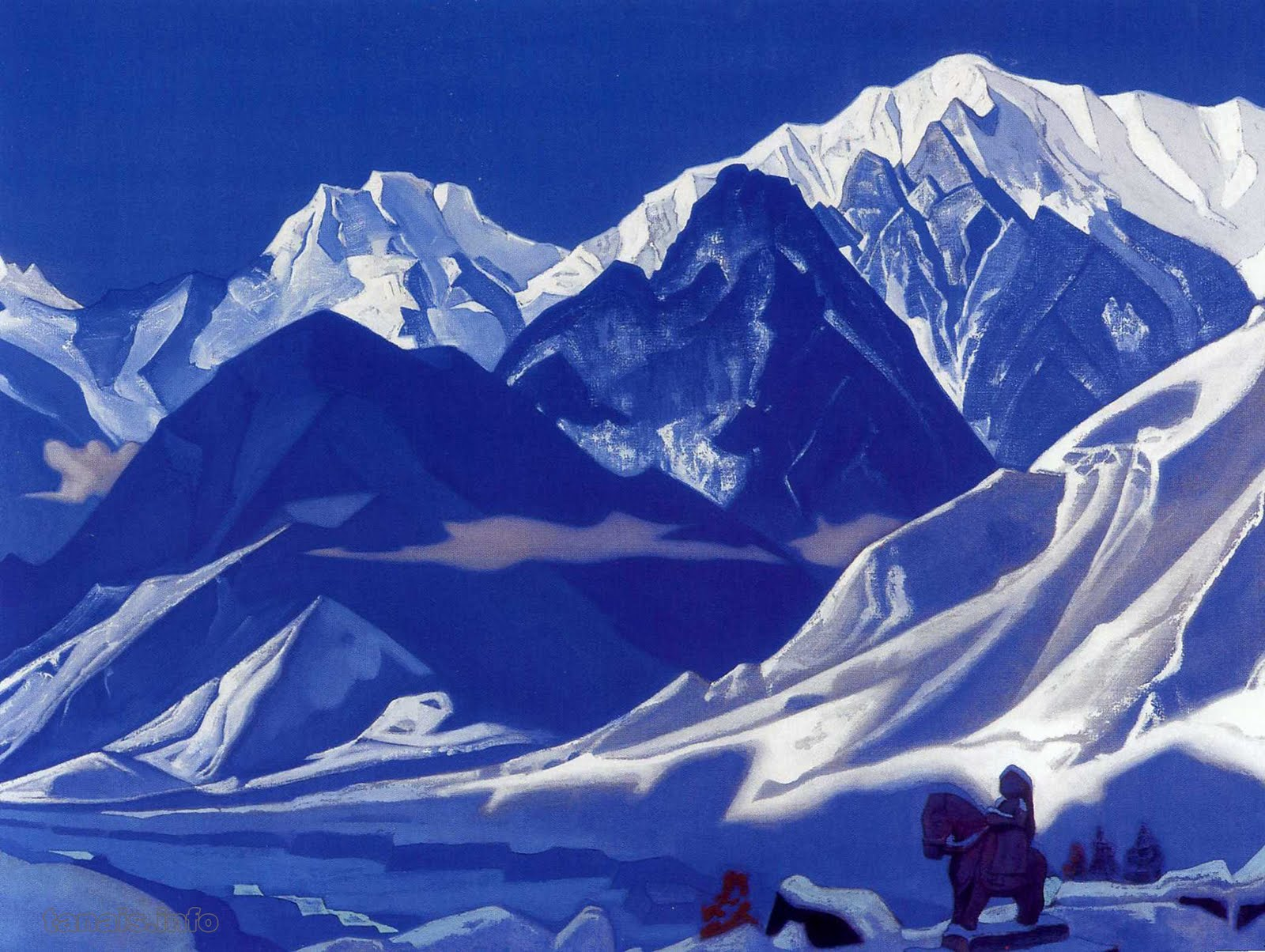 CARRY A COMPASS: Roerich's Himalaya.