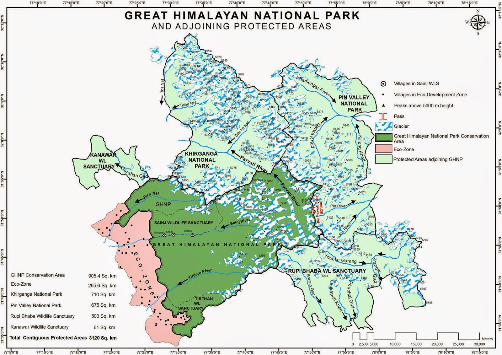 Great Himalayan National Park.