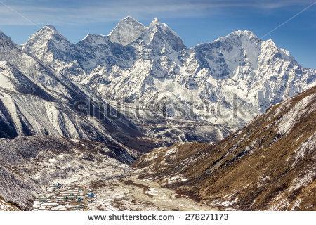 Himalayan Mountains Stock Photos, Royalty.
