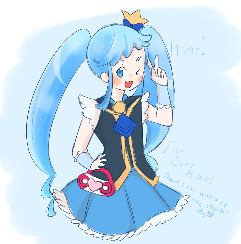 Himelda Window Cure Queen of the Blue Sky by Kaliga on DeviantArt.