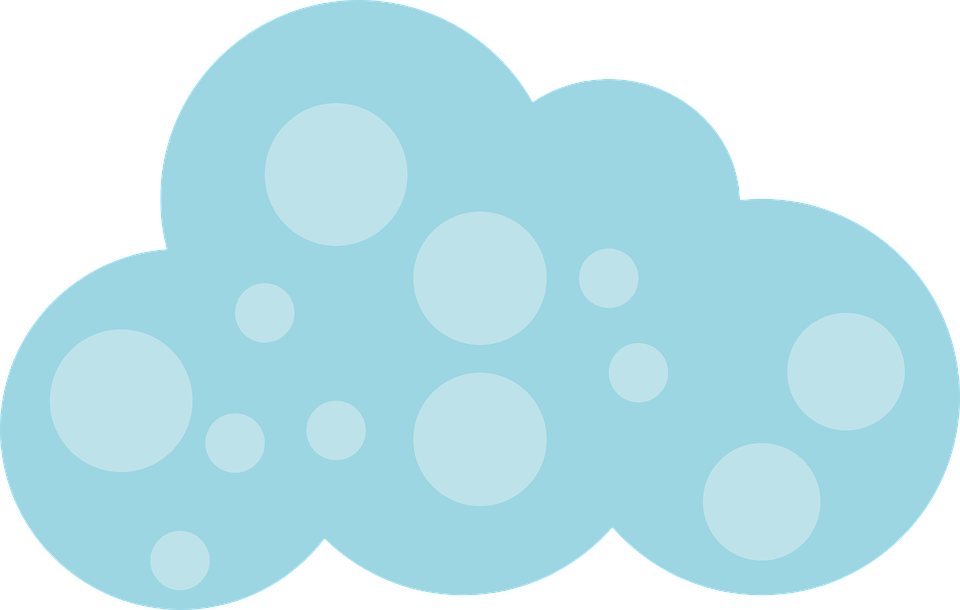 Free vector graphic: Cloud, Blue, Himmel.