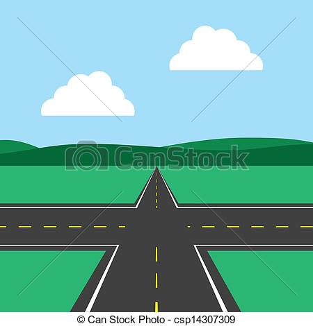 Road Background Clipart.