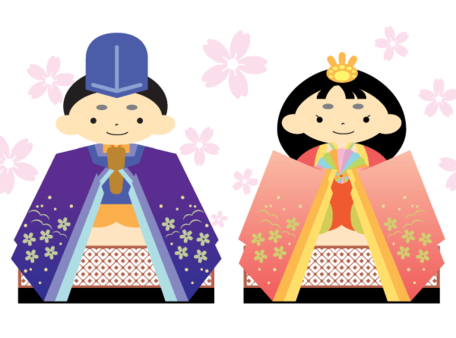 Hina Ningyo Doll Vector Art, Clipart.