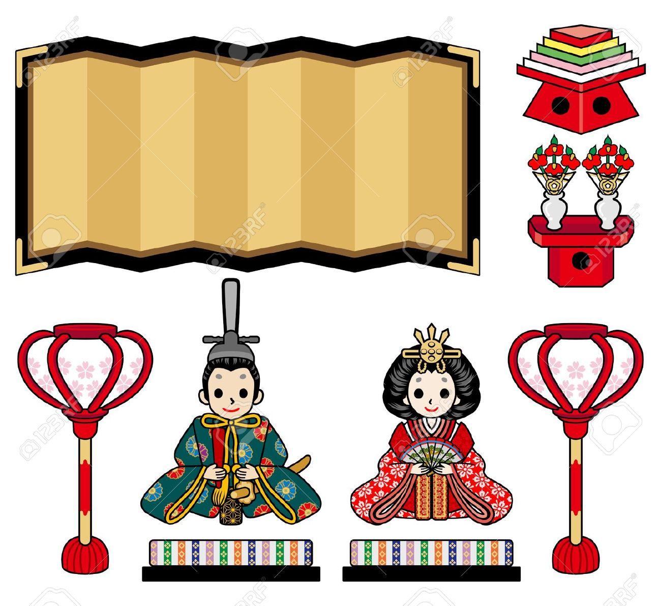 Illustration Of Hina Doll Royalty Free Cliparts, Vectors, And.