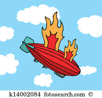 Hindenburg Clip Art Illustrations. 4 hindenburg clipart EPS vector.