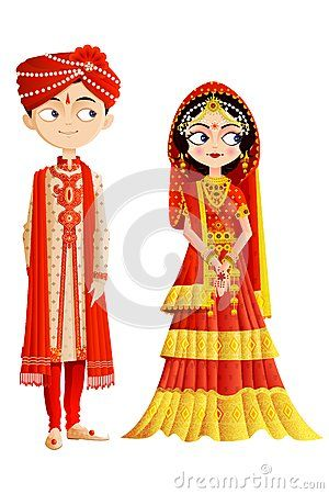 Indian Bride And Groom Clipart Indian.