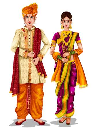 331 Indian Bride And Groom Cliparts, Stock Vector And Royalty Free.