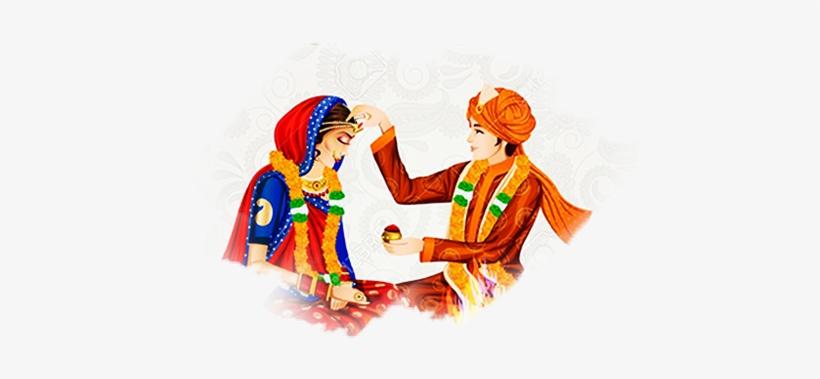hindu wedding Wedding hindu couples clipart transparent png.