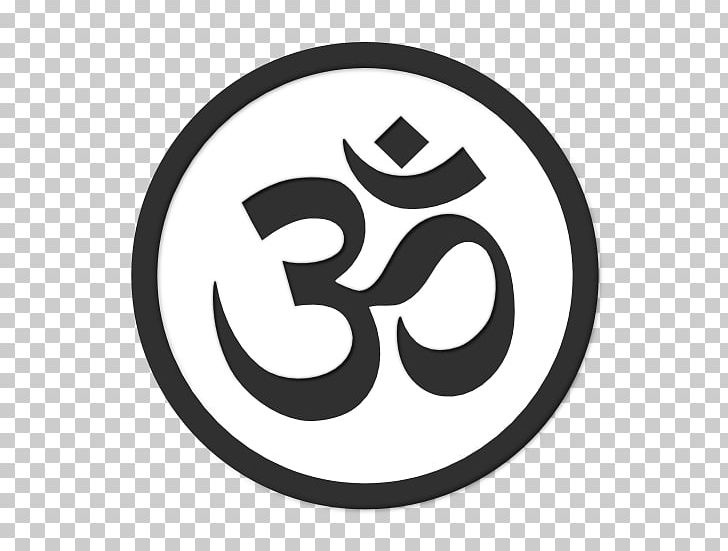 Om Hinduism Namaste Hindu Temple Symbol PNG, Clipart, Black And.