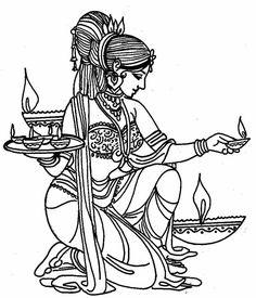 Hindu Wedding Card Clipart Black And White.