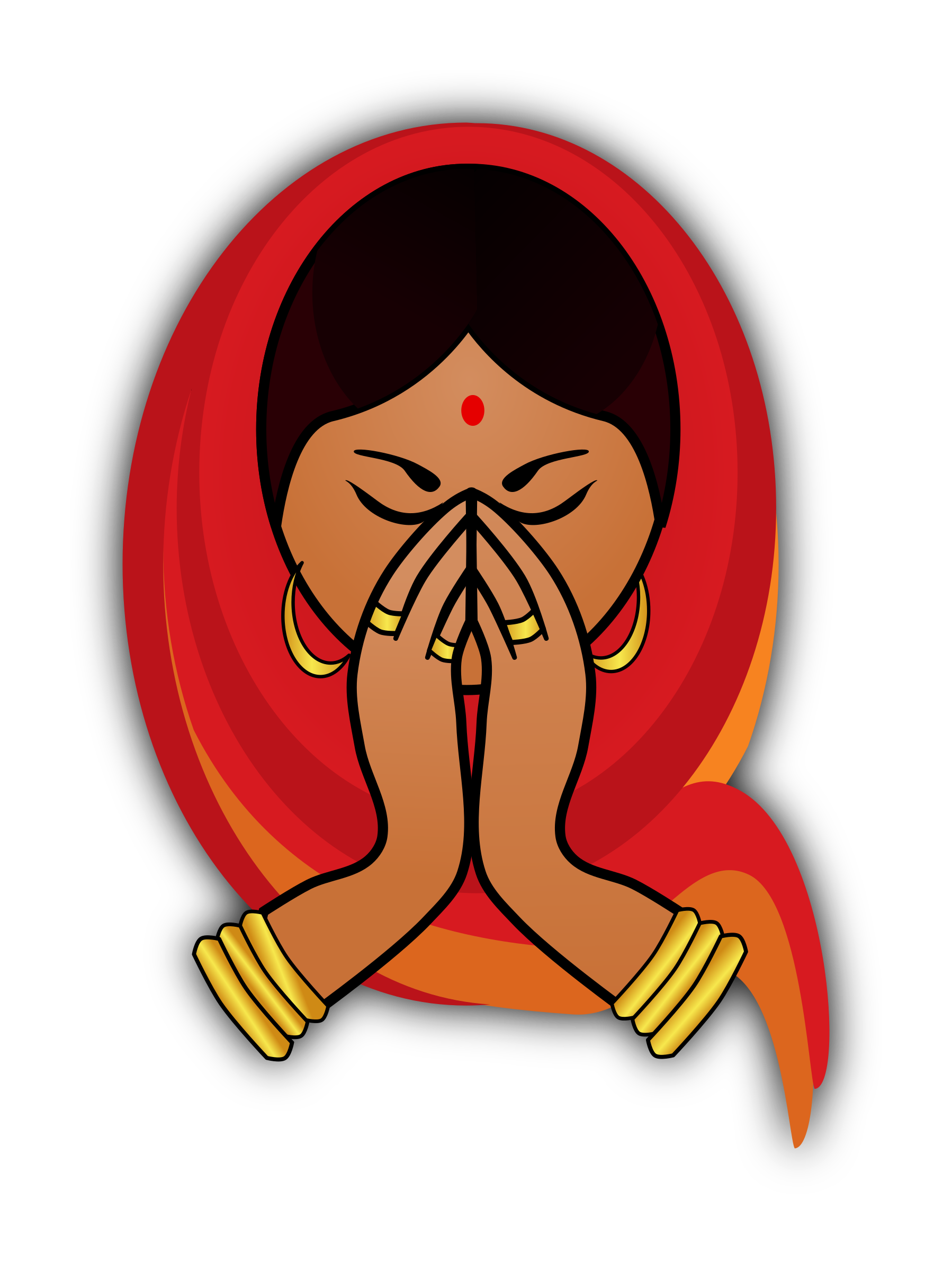 woman greeting clipart clipground