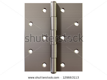 Door Hinge Stock Photos, Royalty.
