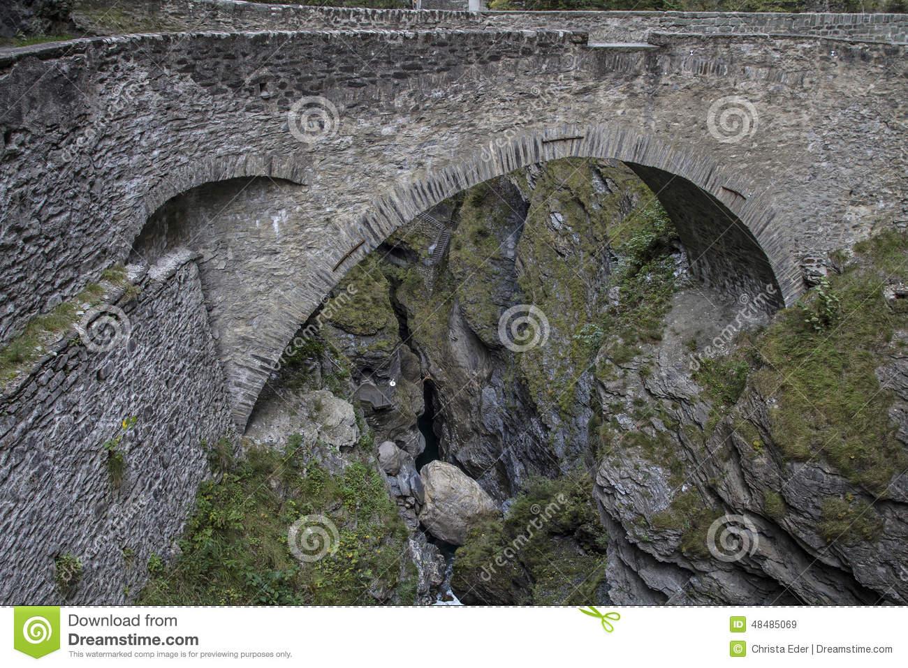 Bridge Via Mala Stock Photo.