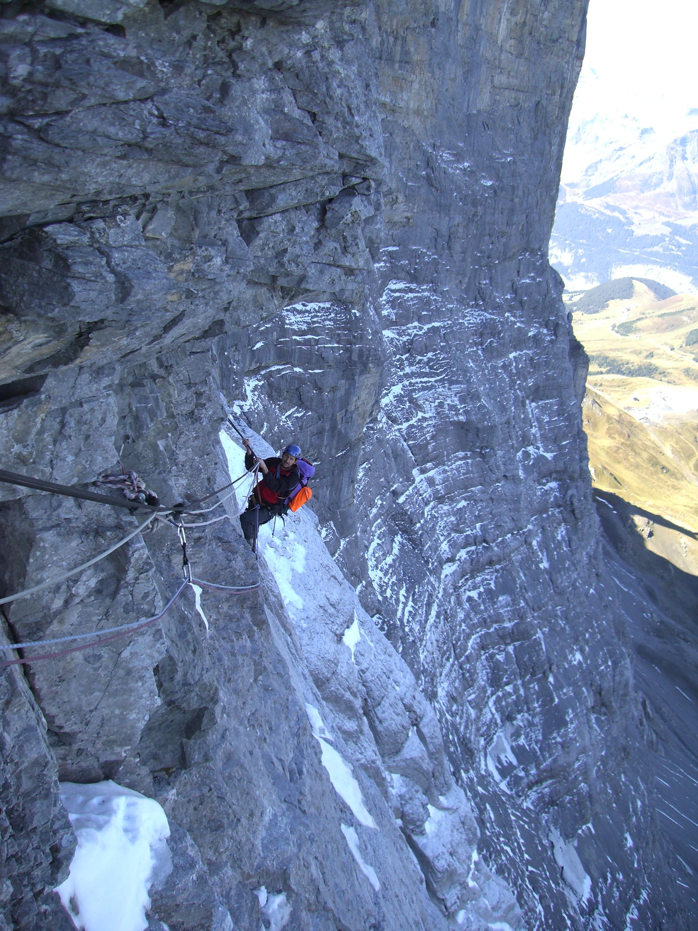Mountaineering.