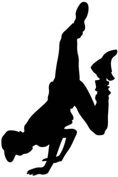 hip hop dance clip art #1
