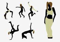 Hip Hop Dancer Free Vector Art.
