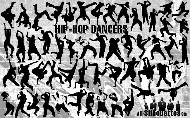 Hiphop dancers.