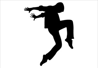 DANCING SILHOUETTE Silhouette Graphics.