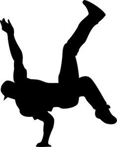 Hip Hop Dancer Clipart.