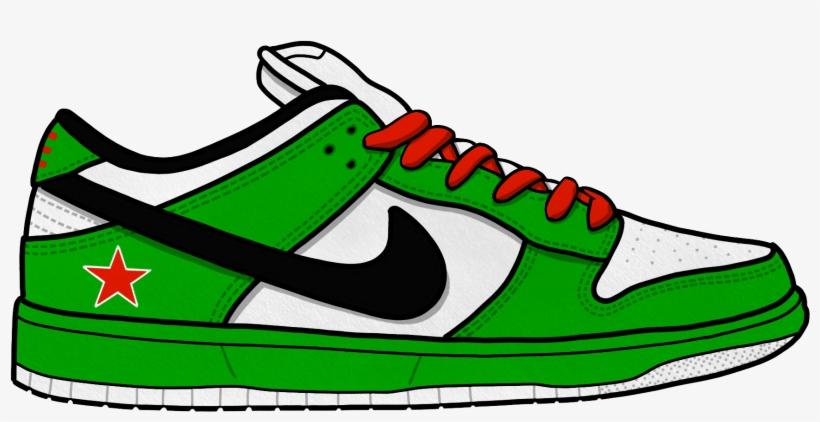 Converse Clipart Hip Hop Shoe Illustration.