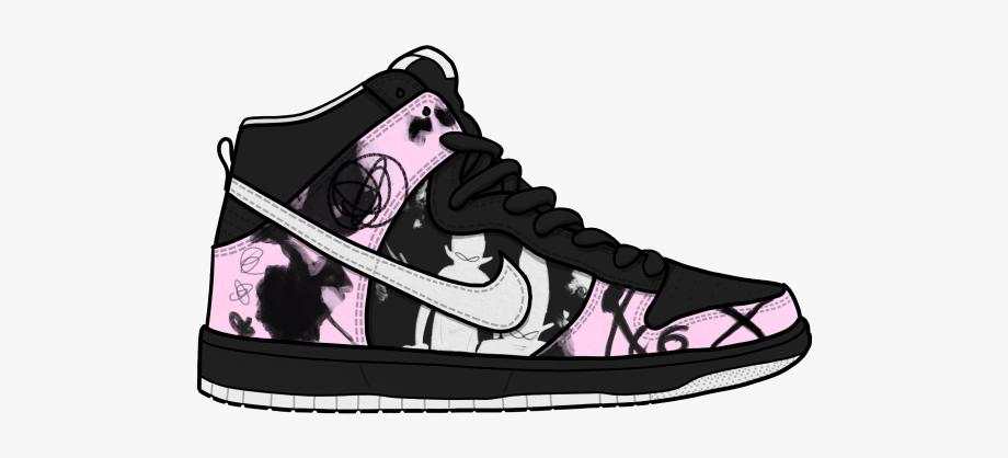 Sneakers Clipart Hip Hop Shoe.