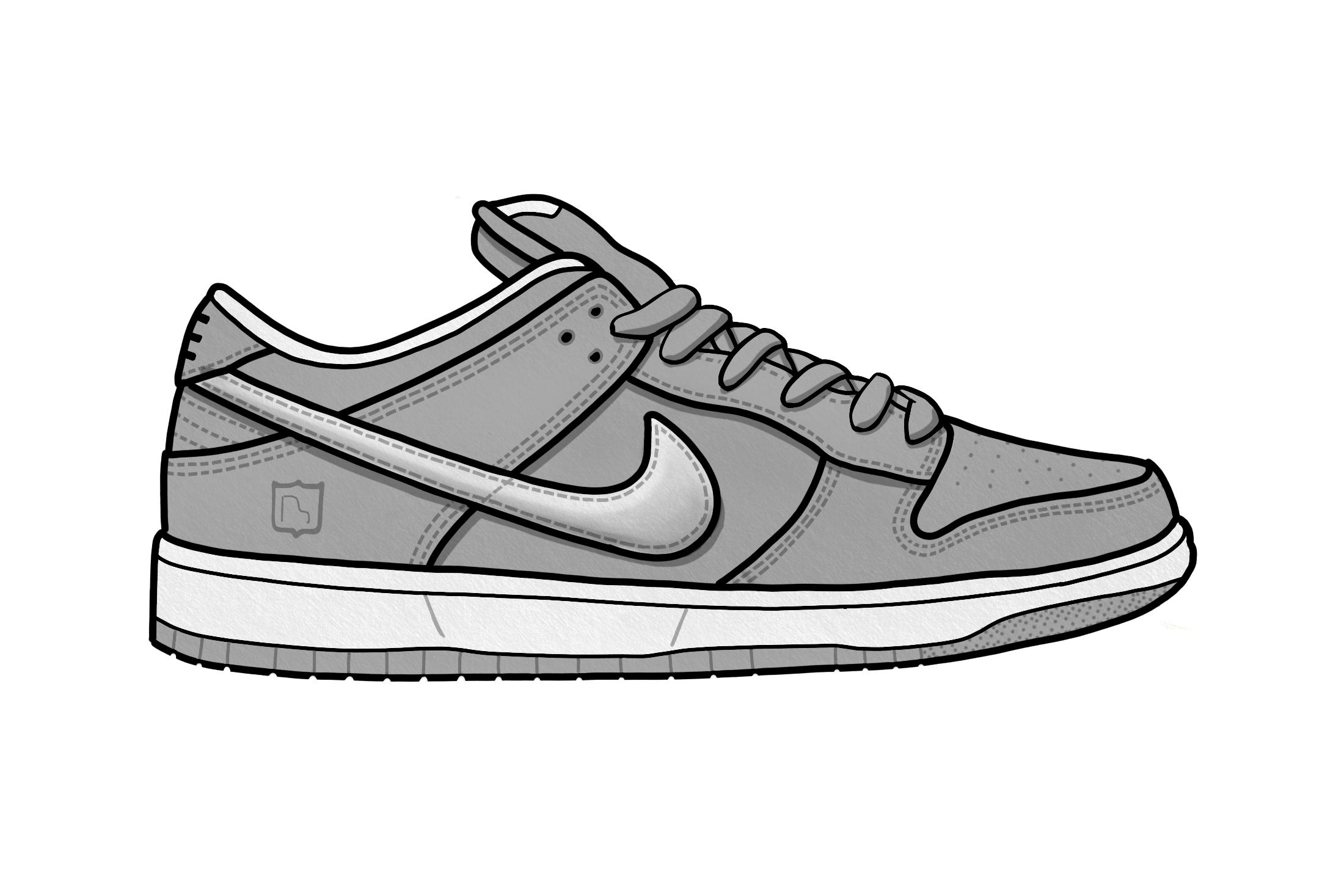 Converse clipart hip hop shoe, Converse hip hop shoe.