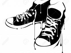 Converse clipart hip hop shoe, Picture #793979 converse.