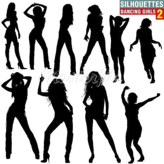 Female Hip Hop Clipart.