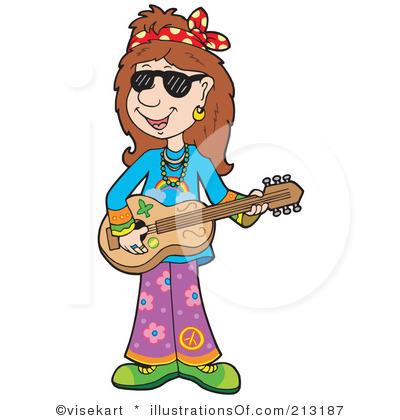 Hippie clip art.