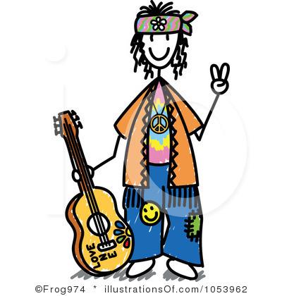 Hippie 20clipart.