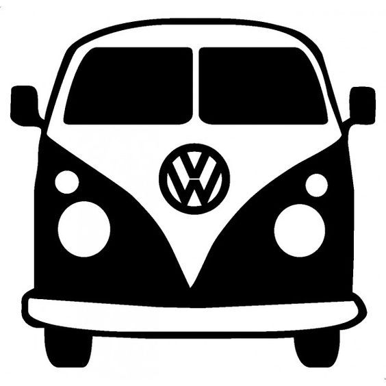 free vw bus clipart.