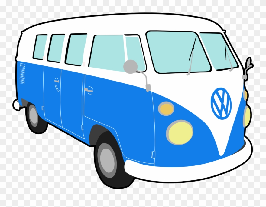 Hippie Bus Png Clip Transparent Download.