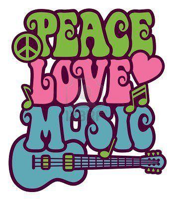 peace #love #music in 2019.