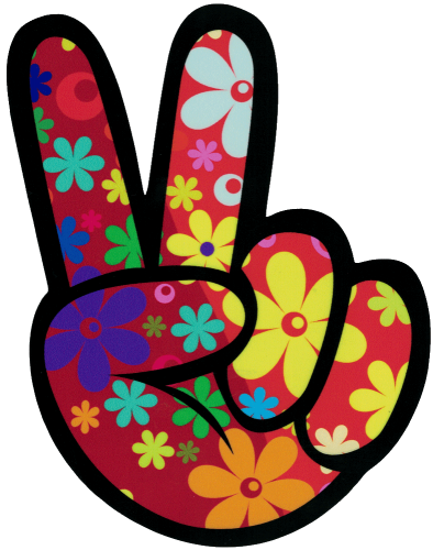 peace love hippie flowers bing blumen red art fame_fam.