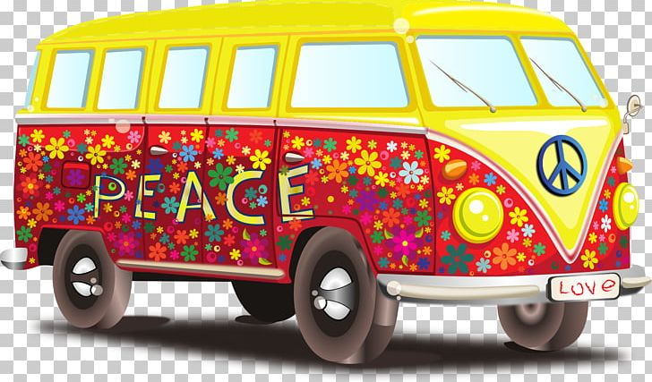 Peace Love Hippie PNG, Clipart, Brand, Campervans, Car, Cars.